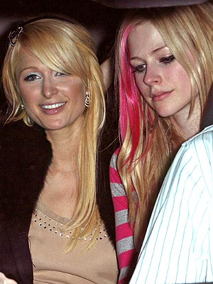 BACKSEAT BUDDIES photo | Avril Lavigne, Paris Hilton