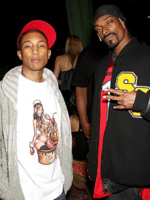 ICE CREAM SOCIAL photo | Pharrell Williams, Snoop Dogg