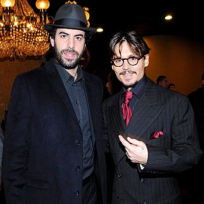 THE 'TODD' COUPLE photo | Johnny Depp, Sacha Baron Cohen