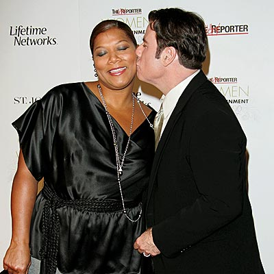 ROYAL KISS photo | John Travolta, Queen Latifah