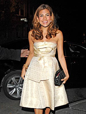 ELEGANT EATS photo | Eva Mendes
