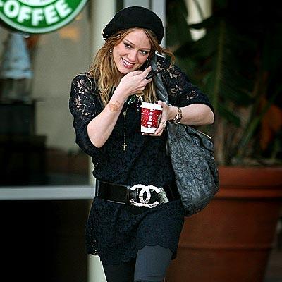 SOMETHING'S BREWING photo   Hilary Duff