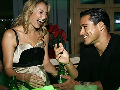 SPIRITED GATHERING photo | Mario Lopez, Stacy Keibler
