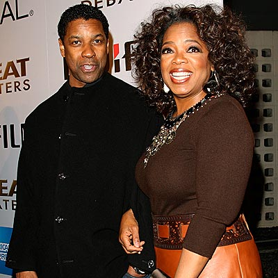&#39;DEBATE&#39; TEAM photo | Denzel Washington, Oprah Winfrey