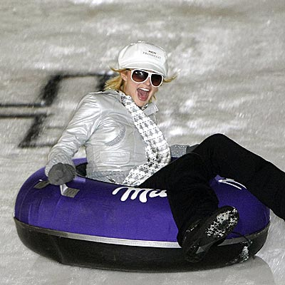 SLIPPERY SLOPE photo | Paris Hilton
