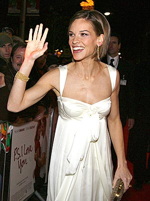 IN SWANK FORM photo | Hilary Swank