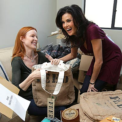 FEED THE WORLD photo | Marcia Cross, Teri Hatcher