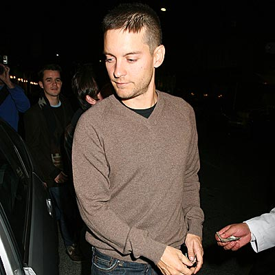 THE LATEST BUZZ photo | Tobey Maguire