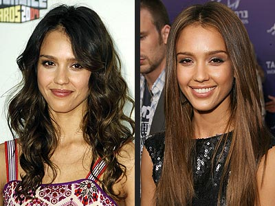 jessica alba hairstyles 2010. 2010 Medium Length Haircuts