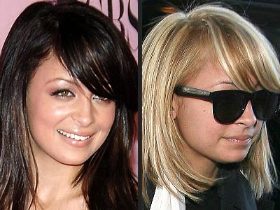 Celebrity Hairstyles Haircuts 2009:Nicole Richie Hairstyle