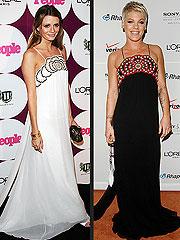 Grammys Fashion Faceoff: Mischa vs. Pink! | Mischa Barton, Pink