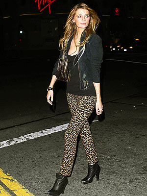 Animal print pants