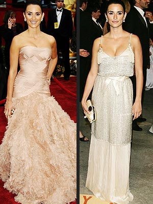 penelope cruz oscar dress 2007. Which Look Do You Like For Penelope: Oscars Gown or Party Dress?