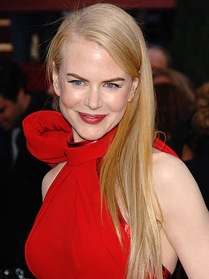 Nicole Kidman began as a client of Laurent's himself — wearing a YSL gown