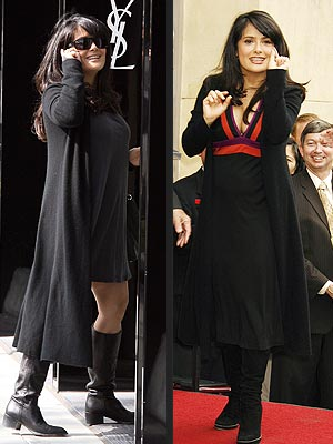 When news broke that Salma Hayek was engaged and pregnant, ...