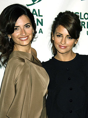 penelope cruz and sister monica