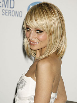 nicole richie nose job before and after. Nicole Ritchie Hairstyle.