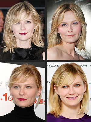 kirsten dunst hair. Kirsten Dunst is out and about