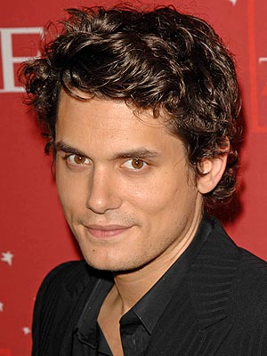 short curly hairstyles men. John Mayer short curly