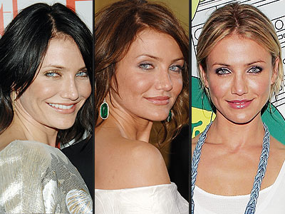 cameron diaz hair. seeing Cameron Diaz back