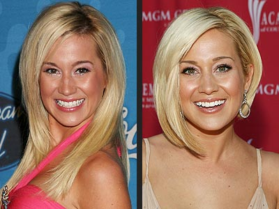 2009 Celebrity Kellie Pickler new short hairstyle