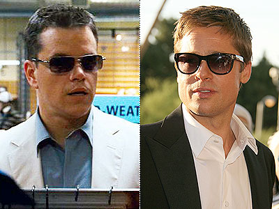 Get Brad and Matt's Ocean's 13 Shades. ER/Flynet
