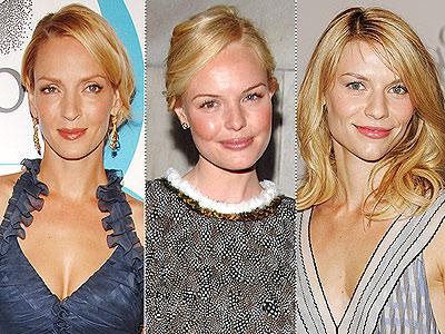 uma thurman hair. Uma Thurman, Kate Bosworth and