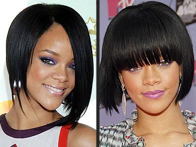 latest fashion hairstyles. Rihann Fashion Haircut and Hairstyle 2009 « Latest Fashion Trends