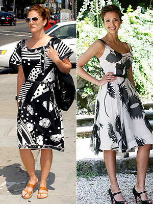 Black  White Dress on Get The Look  Black   White Floral Dresses  For Under  100       Style
