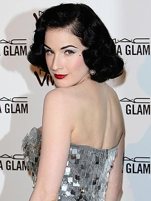 Find out how to style the pinup hairstyle, the pin curl and the victory