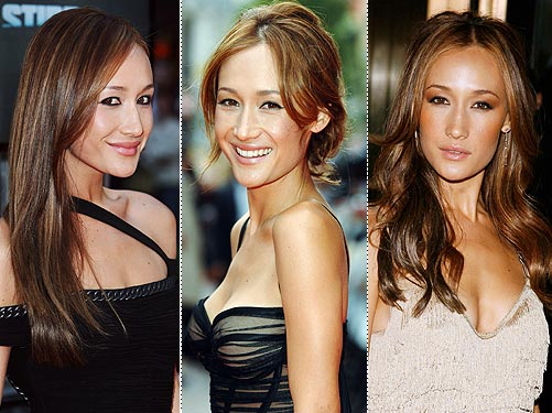Maggie Q Modern Hairstyles for Women