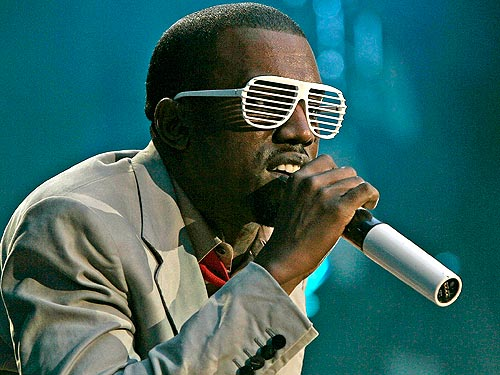 fbb1ebe0ae8 Kanye s Stunna Shades  Kanye s trendsetting window shade type sunglasses  inspired fans around the world to purchase knock-offs of all colors.