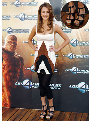 Jessica Alba has had a busy summer promoting Fantastic Four: Rise of the ...