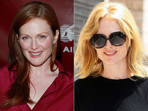 julianne moore. Julianne Moore Lightens Up!