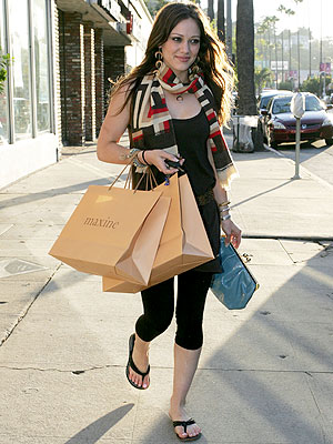 hilary duff skinny. HILARY DUFF, taking a day to