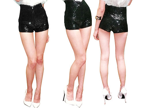 Would You Wear These Sequin Shorts
