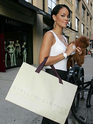 Spotted Shopping: Rihanna, Beyonce and more
