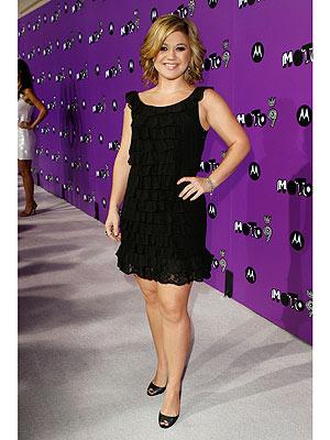 Kelly clarkson black dress