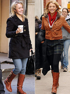 Blake Lively Winter Outfits. Get Hayden and Blake#39;s Boots!
