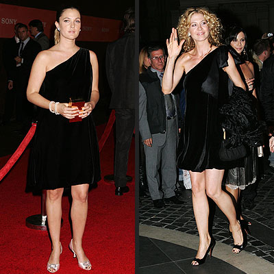 DREW VS. JENNA photo | Drew Barrymore, Jenna Elfman