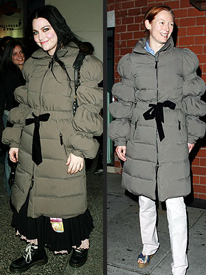 AMY VS. TILDA photo | Amy Lee, Tilda Swinton