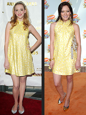 ANDREA VS. HILARY photo | Andrea Bowen, Hilary Duff