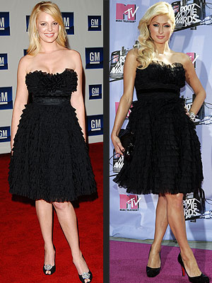 KATHERINE VS. PARIS photo | Katherine Heigl, Paris Hilton