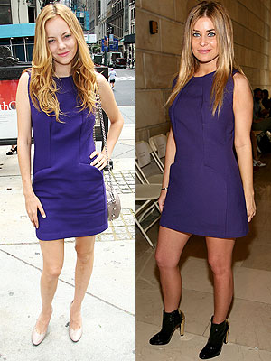 BIJOU VS. CARMEN photo | Bijou Phillips, Carmen Electra