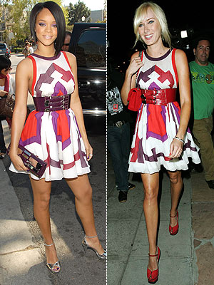 RIHANNA VS. KIMBERLY photo | Kimberly Stewart, Rihanna