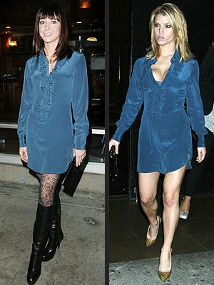 ALYSON VS. JESSICA  photo | Alyson Hannigan, Jessica Simpson