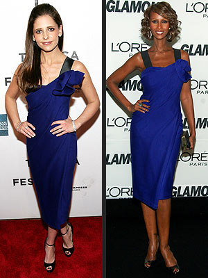 SARAH MICHELLE VS. IMAN  photo | Iman, Sarah Michelle Gellar