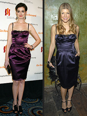 ANNE VS. FERGIE  photo | Anne Hathaway, Fergie
