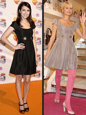 EMMA VS. PARIS  photo | Emma Roberts, Paris Hilton