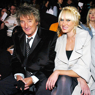 ROD STEWART AND KIMBERLY STEWART  photo | Kimberly Stewart, Rod Stewart